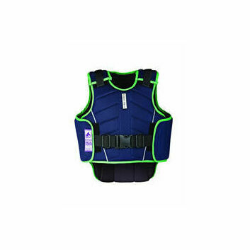 Harry Hall Body Protector Zeus Child Navy/Apple