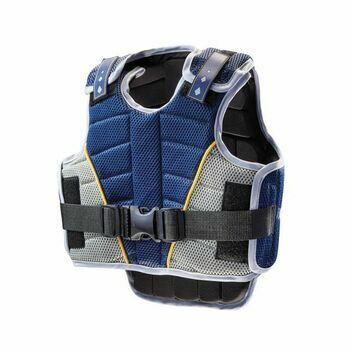 Harry Hall Body Protector Zeus Team Junior Navy/Pale Blue