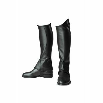 Harry Hall Gaiters Ludlow Junior Black