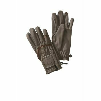 Harry Hall Gloves Domy Suede Brown