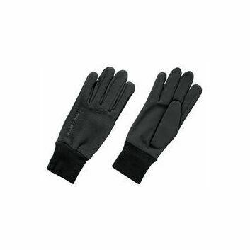 Harry Hall Gloves Fleece/Domy Suede Black