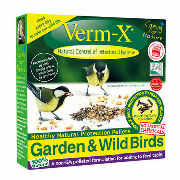 Verm-X Herbal Pellets for Garden & Wild Birds - 8 X 180 GM