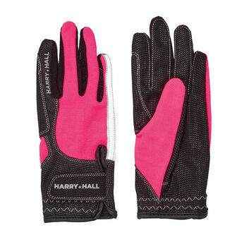 Harry Hall Gloves Lockton Pink
