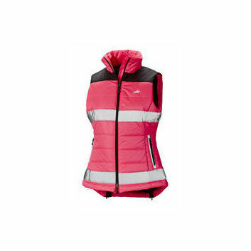 Harry Hall Hi-Viz Gilet Womens Pink