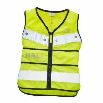 Harry Hall Hi-Viz Tabard Adjustable Junior Yellow