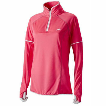 Harry Hall Hi-Viz Top Long Sleeve Womens Pink