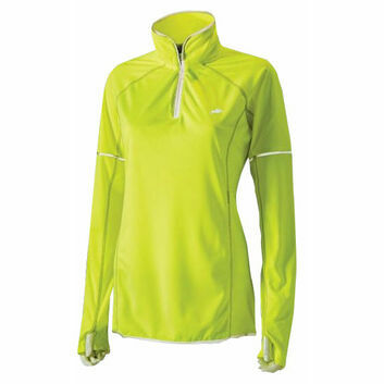 Harry Hall Hi-Viz Top Long Sleeve Womens Yellow