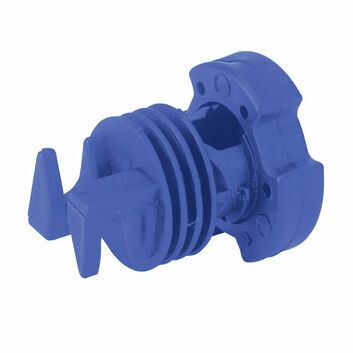 Screw Tight Insulator for Round Posts - 25 PACK