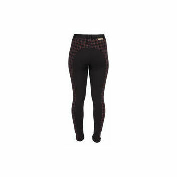 Harry Hall TEX Jodhpurs Chester Checked Ladies Black/Red