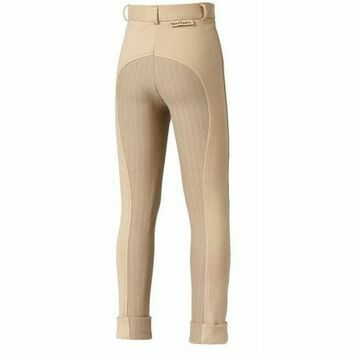Harry Hall TEX Jodhpurs Chester Sticky Bum Junior Beige