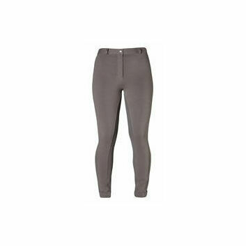 Harry Hall TEX Jodhpurs Chester Sticky Bum Junior Charcoal