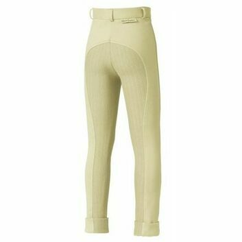Harry Hall TEX Jodhpurs Chester Sticky Bum Junior Ivory