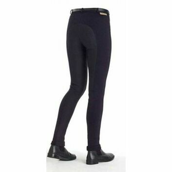 Harry Hall TEX Jodhpurs Chester Sticky Bum Ladies Navy