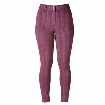 Harry Hall Jodhpurs Queensbury Ladies Aubergine
