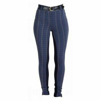 Harry Hall Jodhpurs Queensbury Ladies Navy