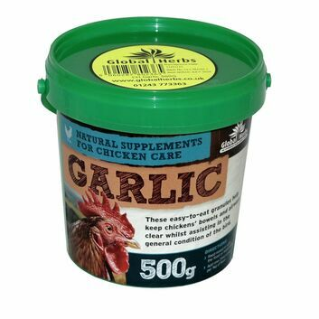 Global Herbs Poultry Garlic Granules - 500 GM