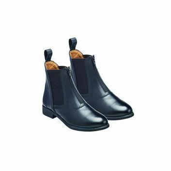 Harry Hall Jodhpur Boots Hartford Zip Front Ladies Black