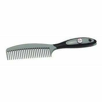 KBF99 Mane Comb Soft Touch MC2-01 - BLACK/GREY