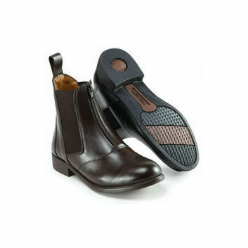 Harry Hall Jodhpur Boots Hartford Zip Front Mens Brown