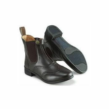 Harry Hall Paddock Boots Eston Junior Brown