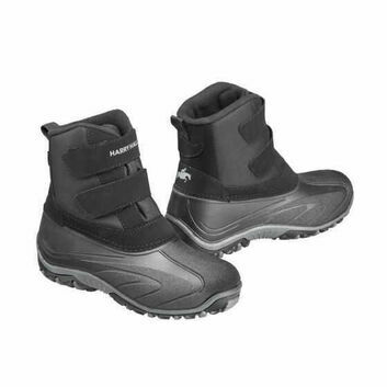 Harry Hall Mucker Boots Gunby Junior Black