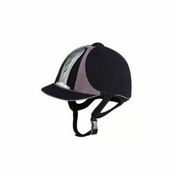 Harry Hall Riding Hat Legend PAS015 Adult Black/Grey