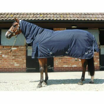 Mark Todd Stable Rug Heavyweight Combo Navy/White - 5' 6