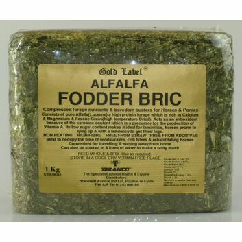 Gold Label Alfalfa Fodder Bric - 1 KG