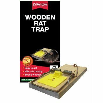 Rentokil Wooden Rat Trap