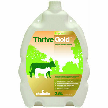 Thrive Gold - 2.5 Litre