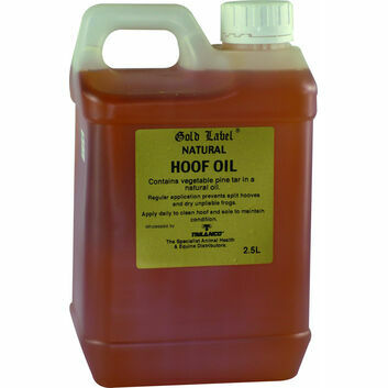 Gold Label Hoof Oil Natural