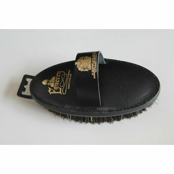 Equerry Body Brush Leather Mexican Fibre LFM
