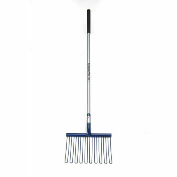 Fynalite Rubber Matting Fork with Long Aluminium Handle