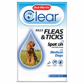 Bob Martin Clear Spot On for Medium Dogs 10-20kg