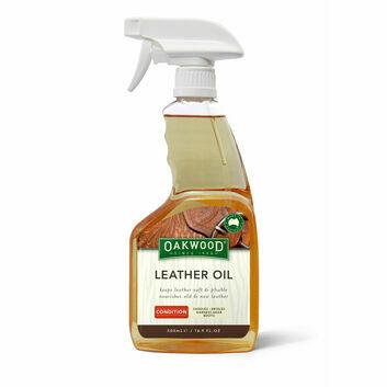 Oakwood Leather Oil Spray - 500 ML