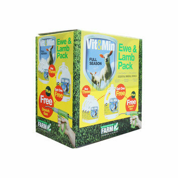 Greencoat Farm Vit&Min Sheep Promo Pack - 4 X 2.5 LT PLUS DRENCH GUN
