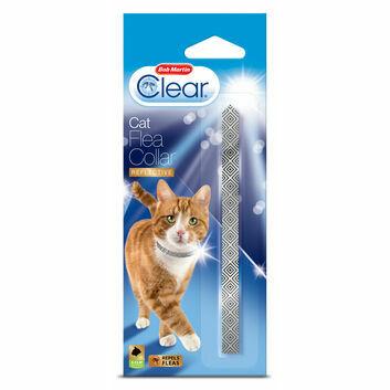 Bob Martin Clear Cat Flea Collar Reflective