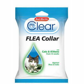 Bob Martin Clear Flea Collar for Cats & Kittens