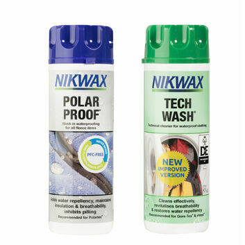 Nikwax Tech Wash/Polar Proof Twin Pack - 300 ML