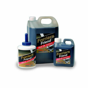 Equine Products Farriers Friend Hoof Oil c/w Brush
