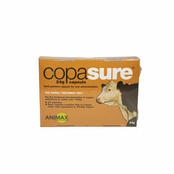 Animax Copasure 24g Capsules for Cattle - 24 PACK