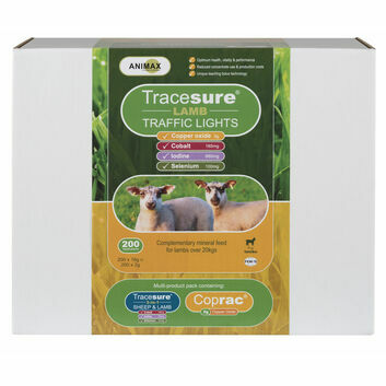 Animax Tracesure Traffic Lights for Lambs - 200 PACK