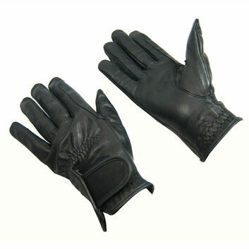 Bitz Leather Gloves Child Black