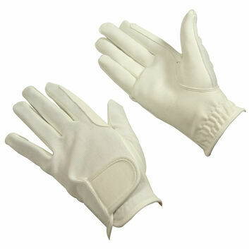 Bitz Synthetic Gloves Adult White