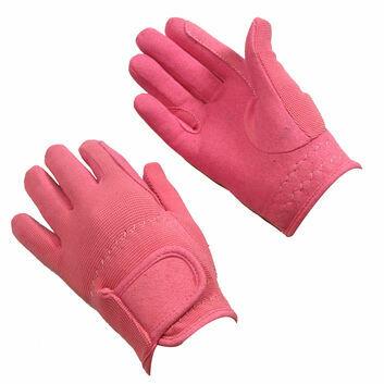 Bitz Riding Gloves Child Pink