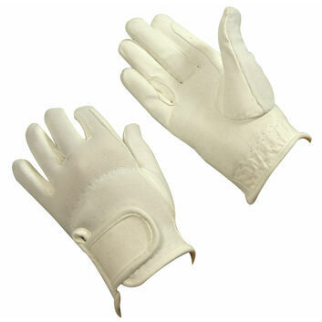 Bitz Riding Gloves Child White