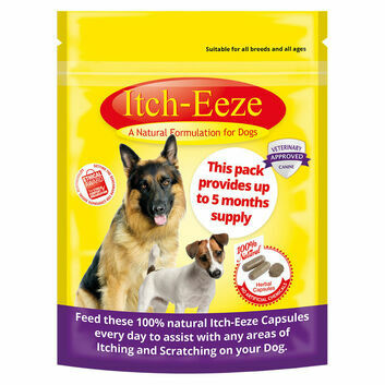 Itch-Eeze Herbal Capsules for Dogs - 50 GM POUCH