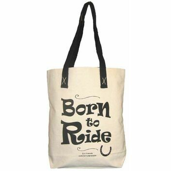Moorland Rider Horsey Girl Shopper Bag