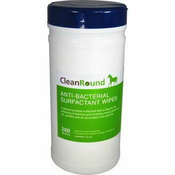 CleanRound Anti-Bacterial Surfactant Wipes - 200 PACK
