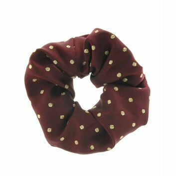 ShowQuest Scrunchie Lurex Medium Spot